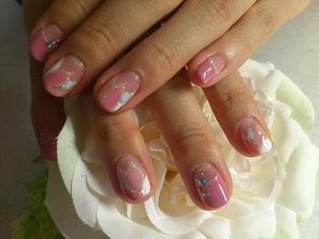 0623ピンク水色お花プッチ.jpg